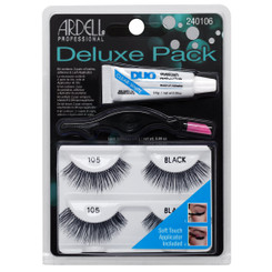Ardell 105 Lash Black Deluxe Pack
