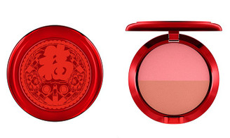 MAC Lucky Red Blush Duo in Melba/Lovecloud
