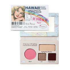 theBalm Hawaii Face Palette
