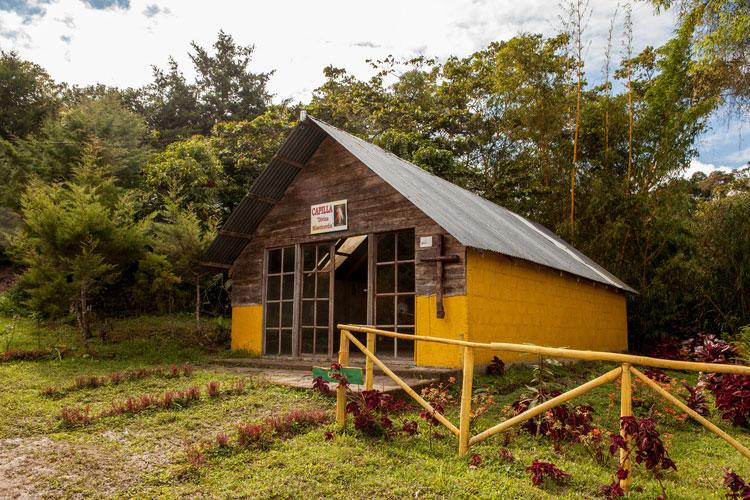 El Recreo farmhouse