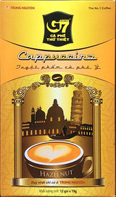 G7 Instant Cappuccino Coffee mix ##for 12 servings; save $.75 on 2-pack and get free samples##