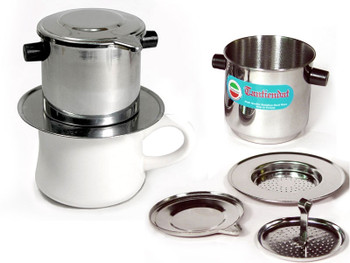 Multi-packs of stainless steel Phins, 4-part filters with instructions