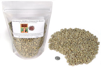 Nicaragua El Recreo™ Jinotega Caturra SWP DeCaf ##for 1lb (larger sizes available)##