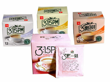 Milk Tea in four flavors: Rose Fruity, Earl Gray, Roasted, and Original ##for 10 teabags##
