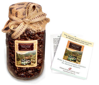Mason Pack Master Roast: Harlequin Nectar ##for 8 oz, fresh-packed in glass jar; 12 oz also available##