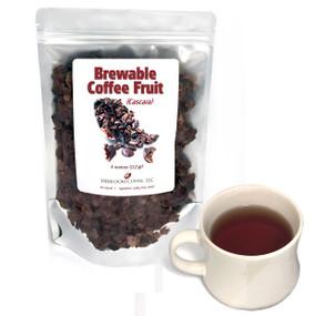 Brewable Coffee Fruit (cascara) ##for 4 ounces##