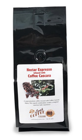 Nectar Espresso infused with Coffee Cascara##for 8 ounces, espresso grind##