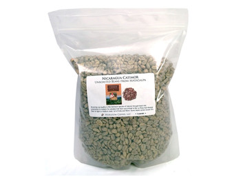Nicaragua Matagalpa green unroasted coffee beans##3 pounds green, unroasted beans##