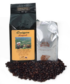Saigon Legend and Legendee Classic whole bean Dynamic Duo ##an extraordinary coffee experience##