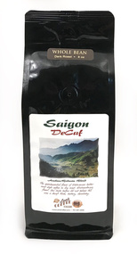 Saigon Blend DeCaf##for 8 ounces, drip grind or whole bean##
