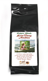 Saigon Blend Lam Dong Vietnamese Arabica##for 8 ounces, ground or whole bean##