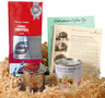 S Coffee Vietnamese Coffee Kit##shown open here; it is packed in a decorative tray box for shipping##