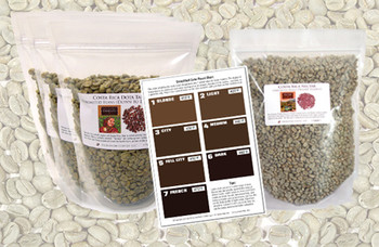 Four green bean origins for creating the perfect House Blend##for 5 lbs of green, unroasted beans##