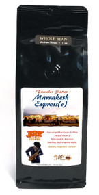 JAZ Improv Coffee : Traveler Series : Morocco##8 ounces, available in Espresso and Drip Grind as well as whole bean##
