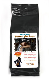 JAZ Improv Coffee : Butter Me Rum! ##for 8 ounces, ground or whole bean##
