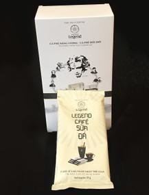 Trung Nguyen Legend Instant Coffee#for nine 25-gram sachets that make 8-9 oz each#