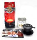 HOPE Vietnamese Coffee Kit##for 12 oz coffee, milk and Phin filter##