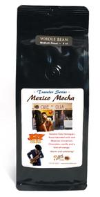 JAZ Improv Coffee : Mexican Mocha ##8 ounces, ground or whole bean##