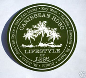 Caribbean Hobo sticker