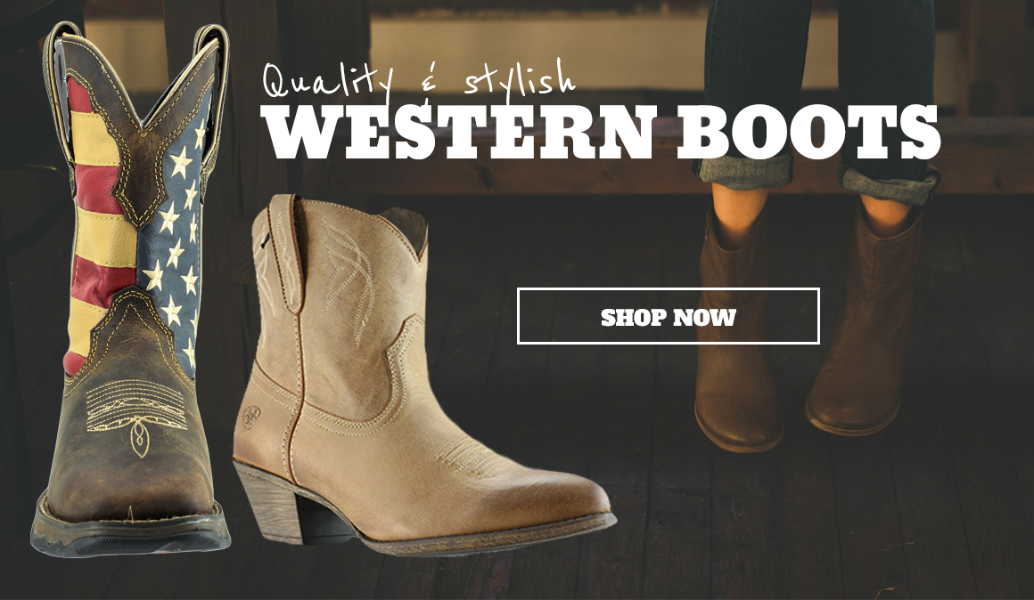quality and stylish western boots