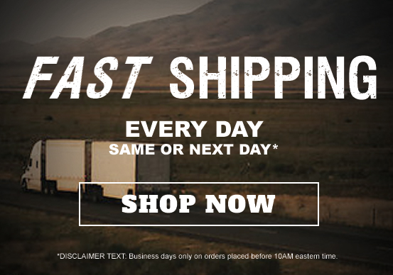 Fast shipping - same day or next day.