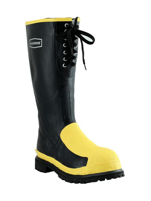 "LaCrosse Men's Rubber Meta-Pac 16"" Steel Toe/Steel Mid-Sole Met-Guard Boot - 00228265 (Right angle)"