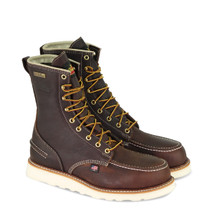 "804-3800 Thorogood 8"" Moc Toe, Waterproof Safety Toe"
