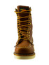"""Thorogood Men's 8"""" Moc Toe Slip Resistant Tobacco Oil-Tanned Leather Soft Toe Boot - 814-4201 (front)"""