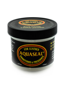 Aquaseal Leather Waterproofing and Conditioner Container (4 Oz.Creme) - 8060142