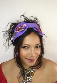 Headband Embroidery - 006 Lavender, Direct from the designer Peak & Brim Hats