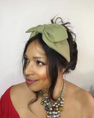 Headband Plain - 007 Linen, Direct from the designer Peak & Brim Hats