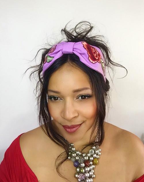 Headband Embroidery - 003 Petal, Direct from the designer Peak & Brim Hats