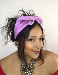 Headband Plain - 001 Petal, Direct from the designer Peak & Brim Hats
