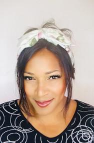 Headband Printed (Floral) - 005 Spring, Direct from the designer Peak & Brim Hats.