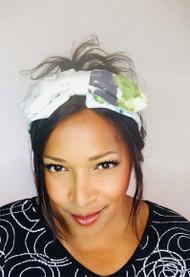 Headband Printed (Floral) - 006, Direct from the designer Peak & Brim Hats.