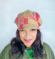 Baker Girl - Cardinal, Direct from the designer Peak and Brim Hats.