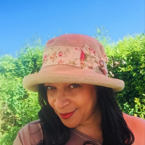 Kathy - Medium Brim - Direct from the designer, Peak and Brim Designer Hats