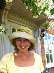Josephine Bow in Olive - Direct from the designer, Peak and Brim Designer Hats