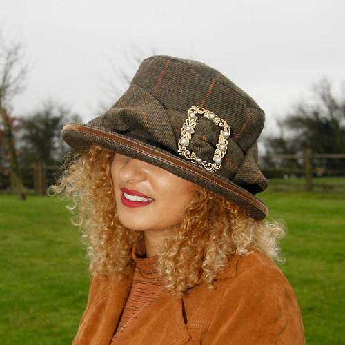 Peak and Brim Designer Hats - Evita - direct from the designer