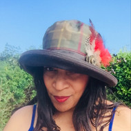 Peak and Brim Hats - Hunter in Brown - Direct from the designer