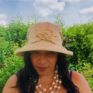 Sweet Charity Medium Brim (Cotton), Direct from the designer, Peak and Brim Designer Hats