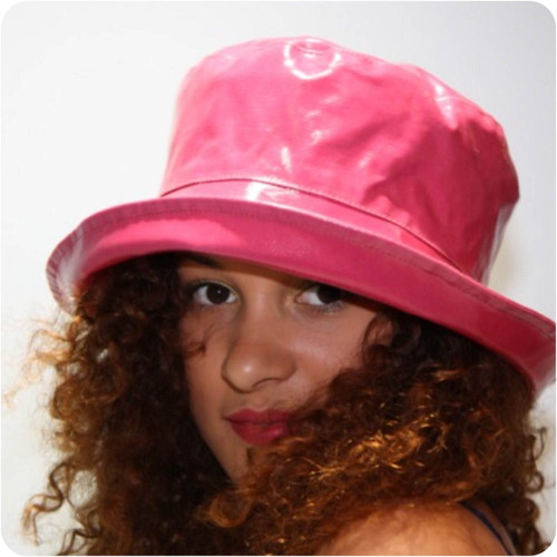 Peak and Brim Designer Hats - Kelly in Petunia - direct from the designer