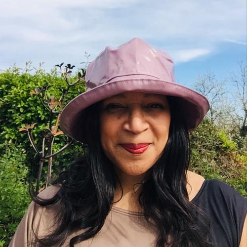 Peak and Brim Designer Hats - Kelly in Lavender - direct from the designer