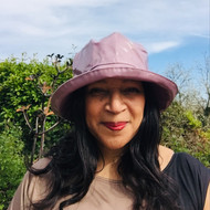 Peak and Brim Designer Hats - Kelly in Lavender - direct from the designer