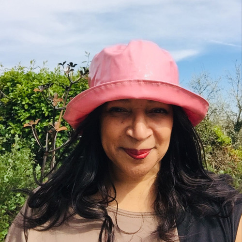 Peak and Brim Designer Hats - Kelly in Petal - direct from the designer