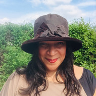 Zara in Brown - Available with small or large Brim - Direct from the designer, Peak and Brim Designer Hats