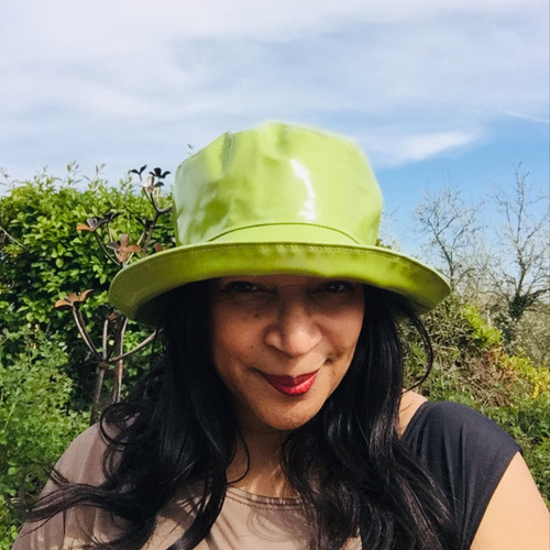 Peak and Brim Designer Hats - Kelly in Evergreen - direct from the designer
