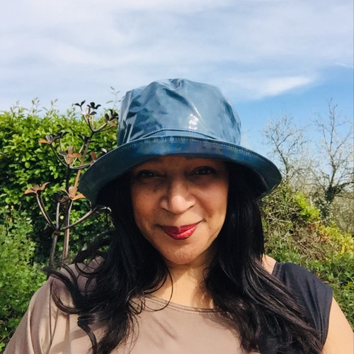 Peak and Brim Designer Hats - Kelly in Demin- direct from the designer