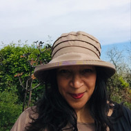 Peak and Brim Designer Hats - Lucy in Beige - direct from the designer