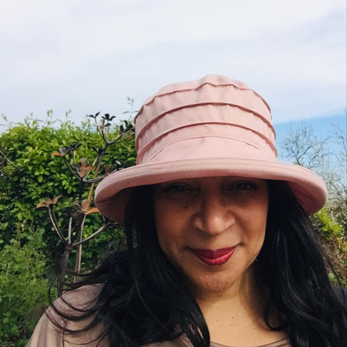 Peak and Brim Designer Hats - Lucy in Vintage Pink - direct from the designer